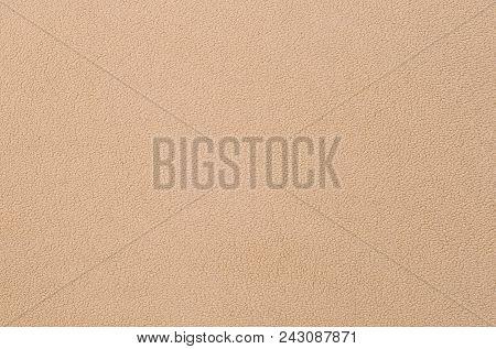The blanket of furry orange fleece fabric. A background texture of light orange soft plush fleece material poster
