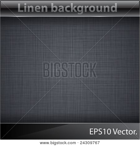 Vector illustration of realistic linen texture.