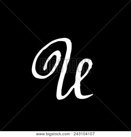 letter u handwritten vector photo free trial bigstock