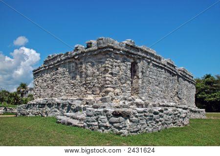 Ancient Mayan Public Building