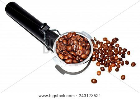 Photo Of A Bar Inventory For Making Coffee With Coffee Beans.