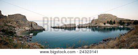 Saint Peter's bay panorama