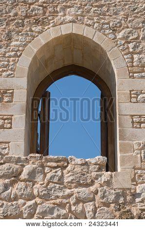 Door to the castle