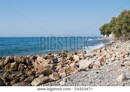 Rocky Aegean coast