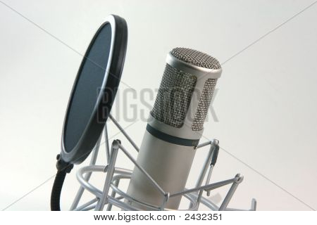 Recording Microphone And Filter