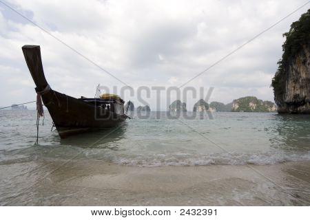 Longtail Boat Phang Nga Bay Thailand