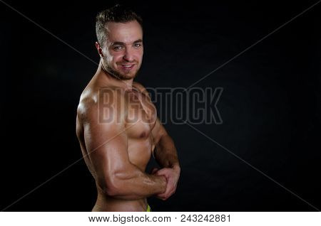 Guy With Sexy Body. Handsome Guy And Athletic Body.handsome Guy And Athletic Body.