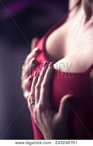 Erotic Sexy Big Breasts Model
