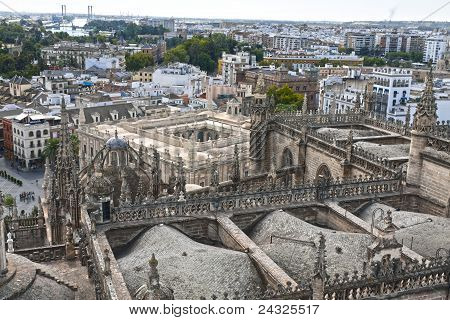Seville From The Cathedral
