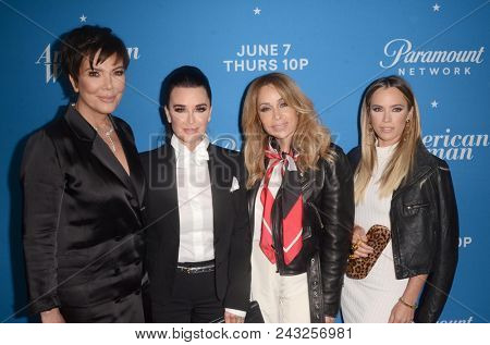 LOS ANGELES - MAY 31:  Kris Jenner, Kyle Richards, Faye Resnick, Teddi Mellencamp at the
