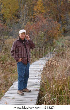 Man In Wilderness 228