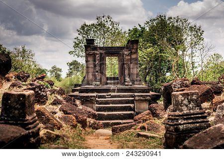 Wat Pho Champasak Historic Site At Laos