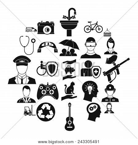 Personnel Department Icons Set. Simple Set Of 25 Personnel Department Vector Icons For Web Isolated