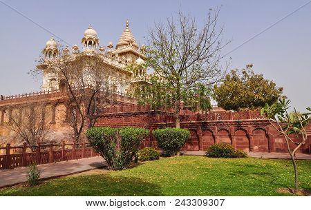 Jaswant Thada In Jodhpur India