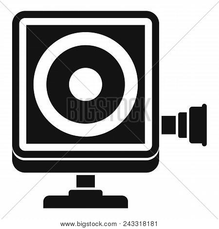 Action Camera Icon. Simple Illustration Of Action Camera Vector Icon For Web Design Isolated On Whit