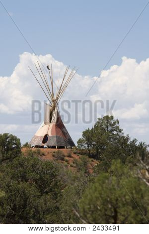 Tipi On The Hill