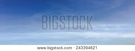 Beautiful Clouds Against A Blue Sky Background. Cloud Sky. Blue Sky With Cloudy Weather, Nature Clou
