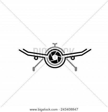 Drone. Aerial Drone Camera. Drone icon. Drone Logo. Drone Vector. Drone illustration. Drone logo vector. Drone Sign. Drone illustration. Drone symbol. Drone vector logo. Drone Camera vector isolated on white background.