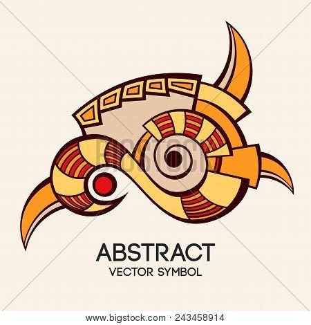 Abstract Geometric Symbol.