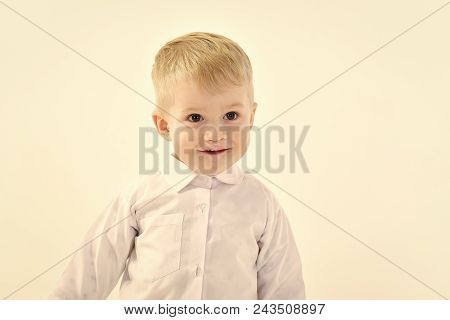 Child Childhood Children Happiness Concept. Childhood And Happiness, Little Boy. Kid Fashion, Style