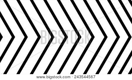 Abstract CGI motion graphics and animated background with moving black and white angle. High Definition CGI motion backgrounds ideal for editing, led backdrops or broadcasting featuring black and white arrows moving vertically. Great for masking. poster
