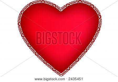 Saint Valentines Day Heart