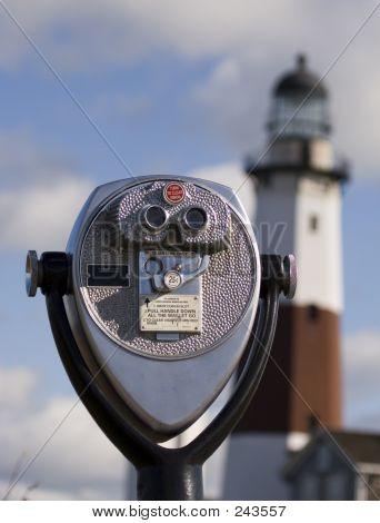Pay Binoculars & Lighthouse