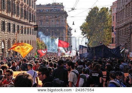 Rome October 15 2011