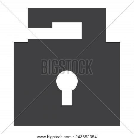 Opened Lock Vector