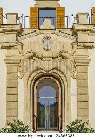 Funny Door Facade, Rome, Italy