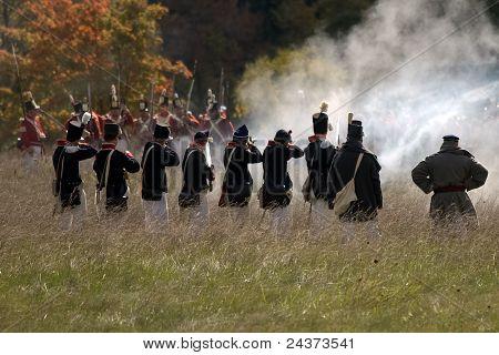 Guerre de 1812 - reconstitution