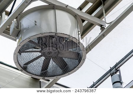 Rounded Shaped Building Air Fan Ventilation Machine