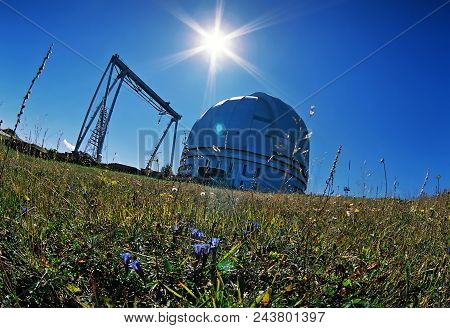 Lower Arkhyz,russia - October 19,2006:a Special Astrophysical Observatory Was Established In 1966.al