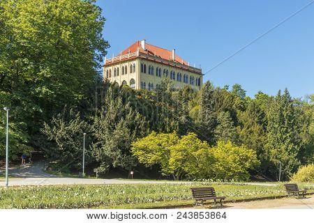 Stromovka Is Royal Game Reserve. The Large Park In Prague Bubenec District In A Floodplain Of Vltava