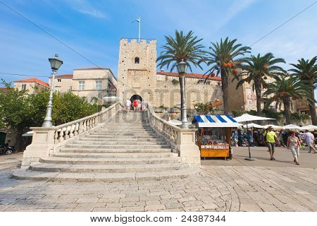 Entrance To Old Town - Korcula