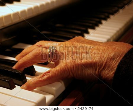 Grandma Plays The Organ