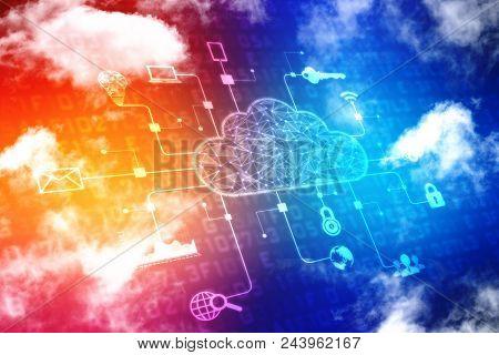 2d Rendering Cloud Computing, Cloud Computing Concept