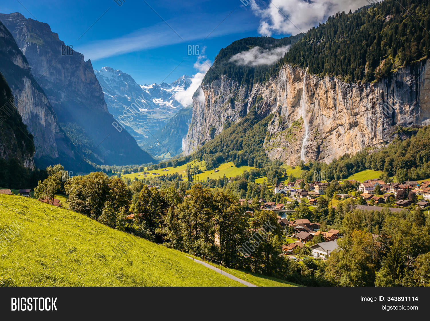 Summer View Alpine Image Photo Free Trial Bigstock Images, Photos, Reviews
