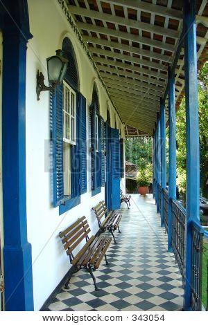 Old Farm House Varanda