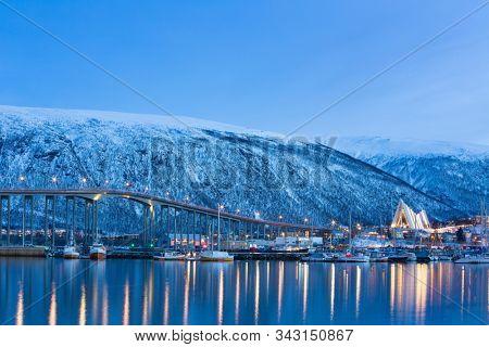 Tromso at Polar Night, Norway, Tromso At Winter Time, Christmas in Tromso, Norway