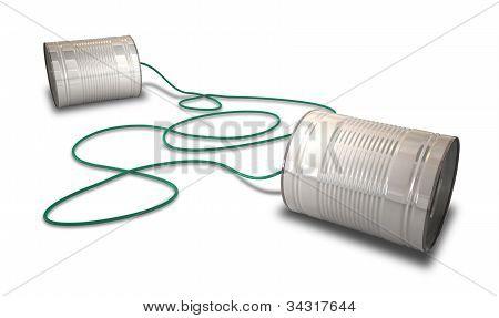 Tin Telephones