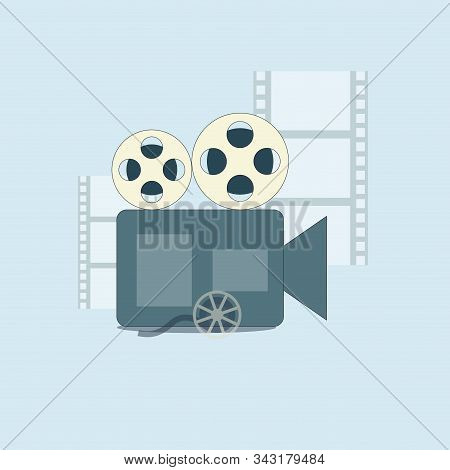 Film Production, Camera And Filmmaking. Cinema Filmmaking, Production Cinematography, Video Camera I