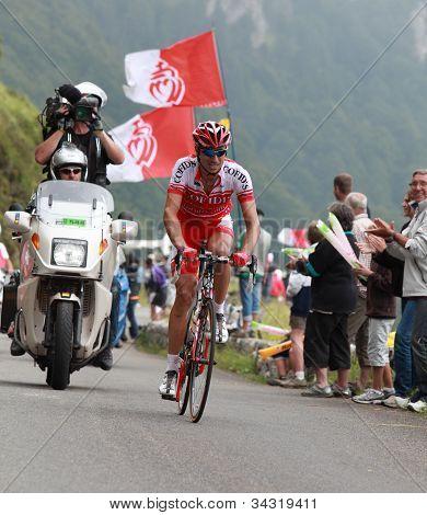 The Cyclist David Moncoutie