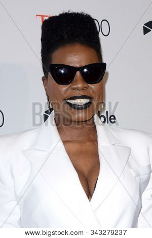 NEW YORK - APR 24: Leslie Jones attends the 2018 Time 100 Gala at Jazz at Lincoln Center on April 24, 2018 in New York City.
