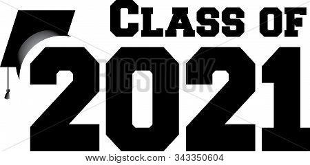 Graduating Class Of 2021 Banner Border Graphic Art