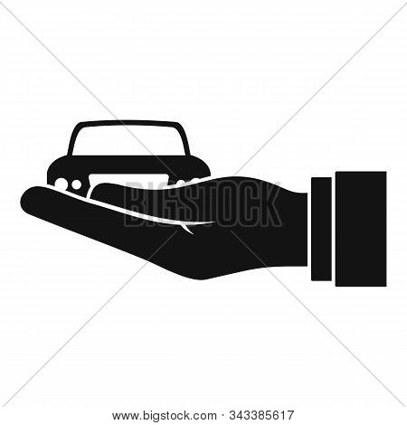 Car Leasing Icon. Simple Illustration Of Car Leasing Vector Icon For Web Design Isolated On White Ba
