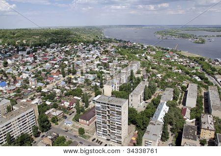 Volga. Green Island.