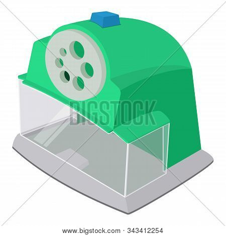 Professional Sharpener Icon. Isometric Of Professional Sharpener Vector Icon For Web Design Isolated