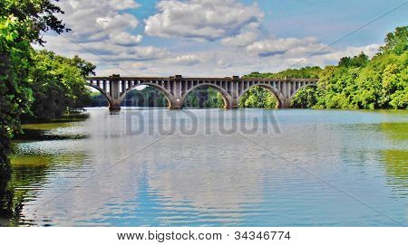 Rappahannock River Train Bridge