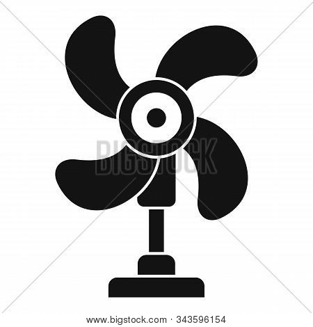 Fresh Air Fan Icon. Simple Illustration Of Fresh Air Fan Vector Icon For Web Design Isolated On Whit